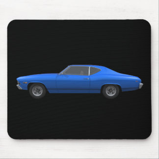 1969 Chevelle SS: Blue Finish: Mousepad