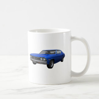 1969 Chevelle SS: Blue Finish Mugs