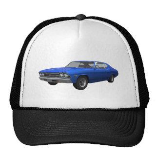 1969 Chevelle SS: Blue Finish Trucker Hat