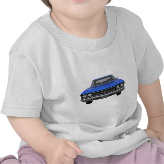 1969 Chevelle SS: Blue Finish Tshirts