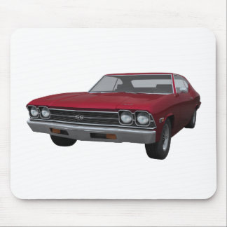 1969 Chevelle SS: Candy Apple Finish Mouse Pad