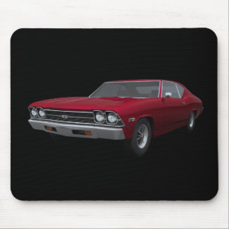 1969 Chevelle SS: Candy Apple Finish: Mousepad