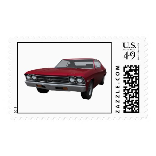 1969 Chevelle SS: Candy Apple Finish: Postage