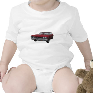 1969 Chevelle SS: Candy Apple Finish Tees