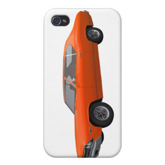 1969 Chevelle SS Orange Finish Covers For iPhone 4