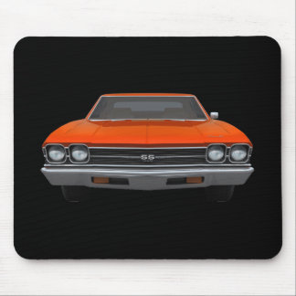 1969 Chevelle SS: Orange Finish: Mousepad