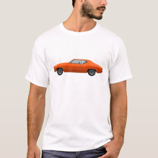 1969 Chevelle SS: Orange Finish T-Shirt