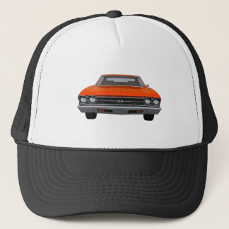 1969 Chevelle SS: Orange Finish Trucker Hat