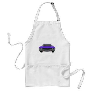 1969 Chevelle SS: Purple Finish Adult Apron