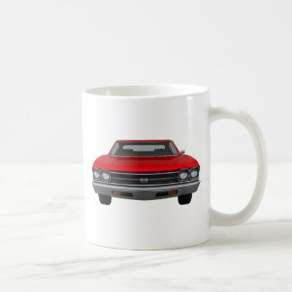 1969 Chevelle SS: Red Finish Mug
