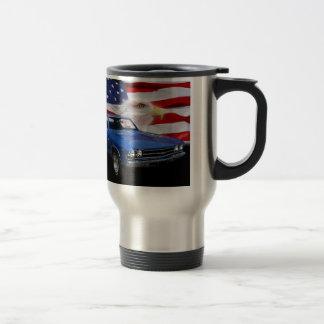 1969 Chevelle Tribute 15 Oz Stainless Steel Travel Mug