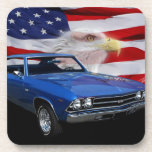 1969 Chevelle Tribute Drink Coasters