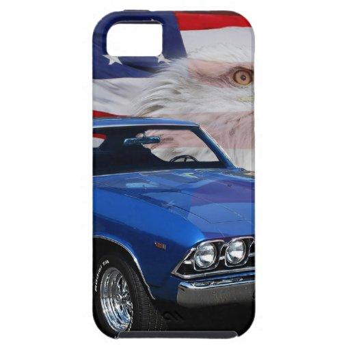 1969 Chevelle Tribute iPhone SE/5/5s Case