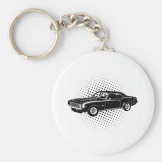 1969 Chevrolet Camaro SS Basic Round Button Keychain