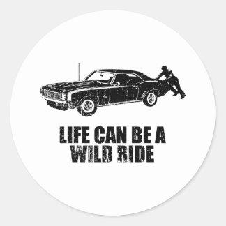 1969 Chevrolet Camaro SS Sticker