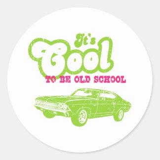 1969 Chevrolet Chevelle 396 SS Classic Round Sticker