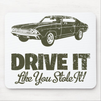 1969 Chevrolet Chevelle 396 SS Mouse Pads
