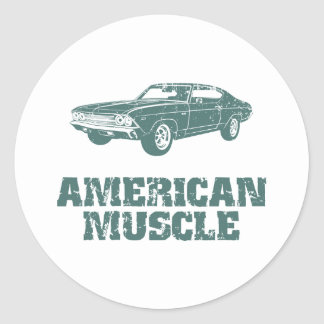 1969 Chevrolet Chevelle 396 SS Stickers