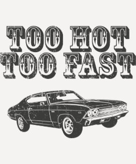 1969 Chevrolet Chevelle 396 SS T Shirts