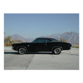 1969 Chevrolet Chevelle SS Poster