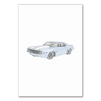 1969 Chevy Camaro Card