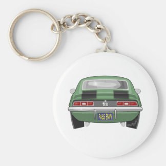 1969 Chevy Camero SS Basic Round Button Keychain