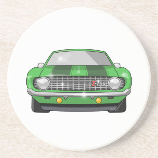 1969 Chevy Z28 Camero Drink Coaster