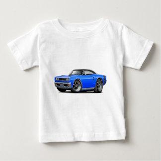 1969 Coronet RT Blue-Black Top Double Scoop Hood Infant T-shirt
