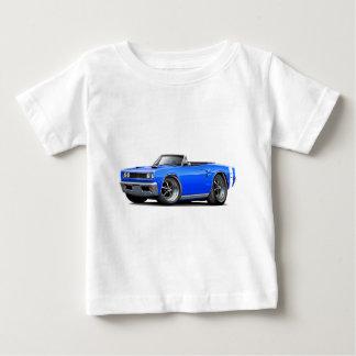 1969 Coronet RT Blue-White Double Scoop Hood T Shirt