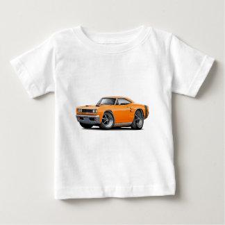 1969 Coronet RT Orange-Black Double Scoop Hood Shirt