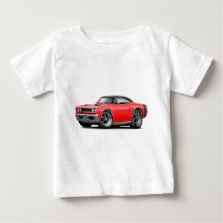 1969 Coronet RT Red-Black Top Double Scoop Hood Tee Shirt