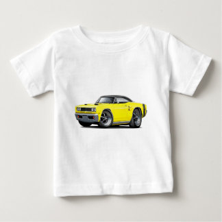 1969 Coronet RT Yellow-Black Top Double Scoop Hood T Shirt
