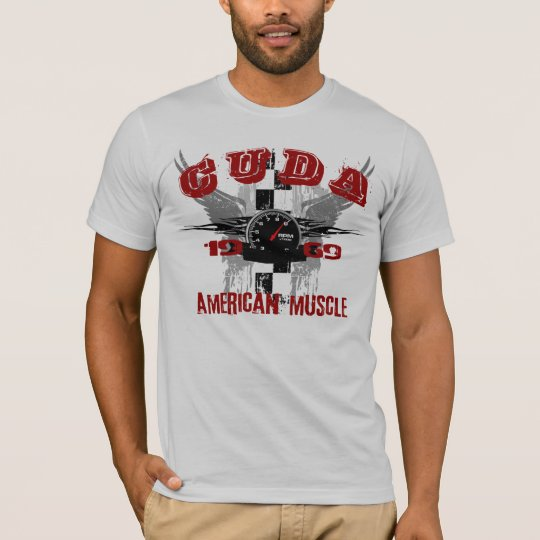 1969 Cuda Graphic Tee Shirt