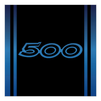 1969 Dodge Charger 500 Poster