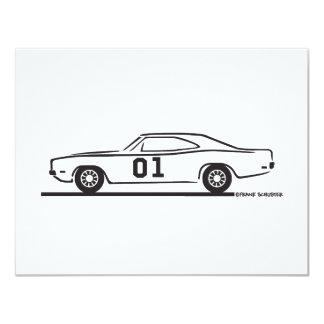 1969 Dodge Charger General Lee Card
