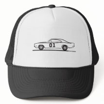 1969 Dodge Charger General Lee Trucker Hat
