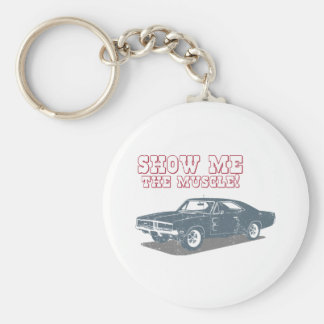 1969 Dodge Charger R/T SE Basic Round Button Keychain