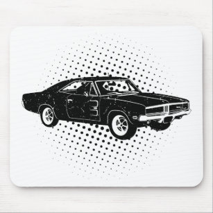 1969 Dodge Charger R/T SE Mouse Pad