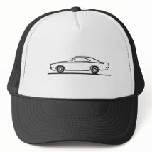 1969 Dodge Charger Trucker Hat