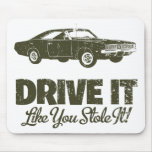 1969 Dodge Hemi Charger Mouse Pad
