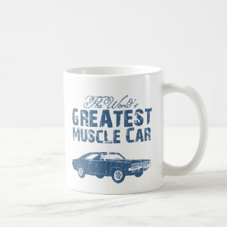 1969 Dodge Hemi Charger Classic White Coffee Mug