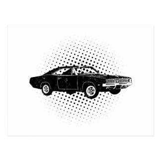 1969 Dodge Hemi Charger Postcard