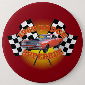1969 Dodge Super Bee Button. Button
