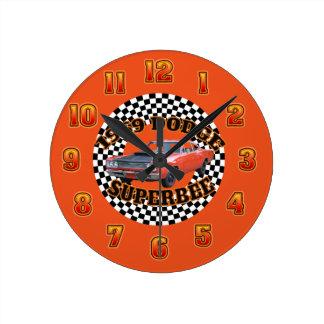 1969 Dodge Super Bee Clock. Round Clock