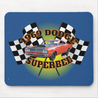 1969 Dodge Superbee Mouse Pad. Mouse Pad