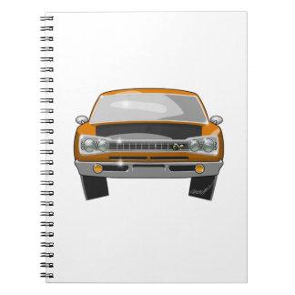 1969 Dodge Superbee Notebook