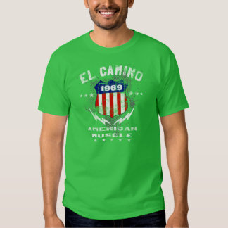 1969 El Camino American Muscle v3 T-Shirt
