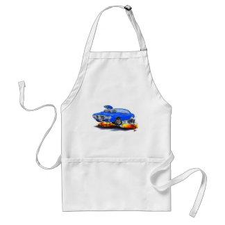 1969 Firebird Blue Car Adult Apron