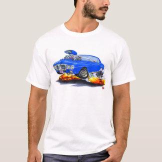 1969 Firebird Blue Car T-Shirt