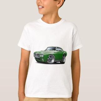 1969 Firebird Dark Green Car T-Shirt